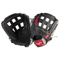 Rawlings Gamer Series Fielder's Glove - Men's - Black / Silver