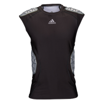adidas Ironskin 5-Pad Sleeveless Top - Men's - Black / Grey