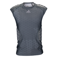 adidas Ironskin 5-Pad Sleeveless Top - Men's - Grey / Grey