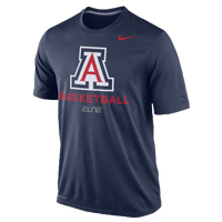 Nike College DF Basketball Practice T-Shirt - Men's - Arizona Wildcats - Navy / White