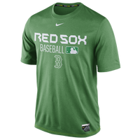 Nike MLB AC Dri-Fit Team Issue T-Shirt - Men's - Boston Red Sox - Green / White