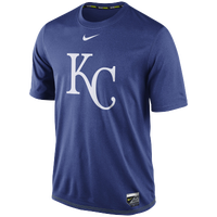 Nike MLB AC Dri-Fit Legend Logo T-Shirt - Men's - Kansas City Royals - Blue / White