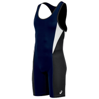 ASICS® Legit Wrestling Singlet - Men's - Navy / Black