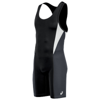 ASICS® Legit Wrestling Singlet - Men's - Black / Grey
