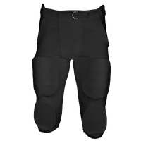 Eastbay Zone Blitz Integrated Game Pant - Men's - All Black / Black
