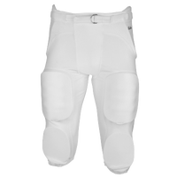 Eastbay Zone Blitz Integrated Game Pant - Boys' Grade School - All White / White