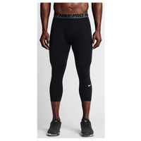 Nike Pro Cool Compression 3/4 Tights - Men's - Black / Grey