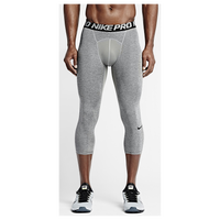 Nike Pro Cool Compression 3/4 Tights - Men's - Grey / Black