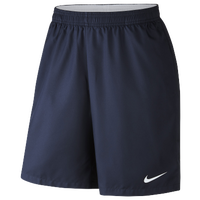 "Nike Court Dry 9"" Shorts - Men's - Navy / Navy"