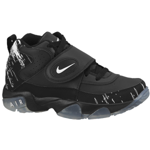Nike Air Mission - Boys' Grade School - Black/White/Chrome