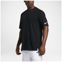 Nike Elite Basketball Top - Men's - Black / White