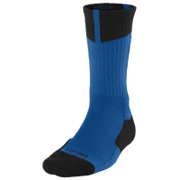 Jordan AJ Dri-Fit Crew Socks - Men's - Blue / Black