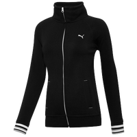 PUMA Sweat Jacket - Women's - Black / White