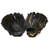 Mizuno MVP Prime Fielder's Gloves - Men's - Black / Gold