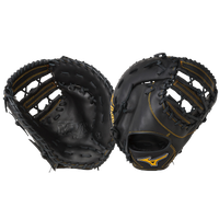 Mizuno MVP Prime First Base Mitt - Men's - Black / Gold