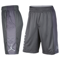 Jordan Game Shorts - Men's - Grey / Grey
