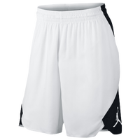 Jordan Ultimate Flight TG Shorts - Men's - White / Black