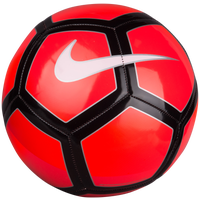 Nike Pitch Soccer Ball - Red / Red