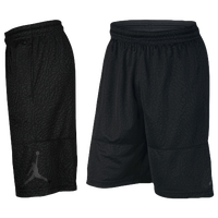 Jordan Ele Print Shorts - Men's - All Black / Black
