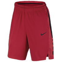 Nike Elite Stripe Shorts - Men's - Red / Black