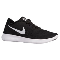 Nike Free RN - Men's - Black / White