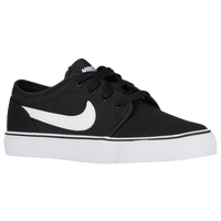 Nike Toki Low - Boys' Grade School - Black / White