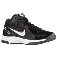 Nike Air Overplay 9 - Men's - Black / White