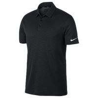 Nike Golf Dry Textured OLC Polo - Men's - All Black / Black