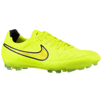 Nike Tiempo Legacy Leather AG - Men's - Yellow / Black