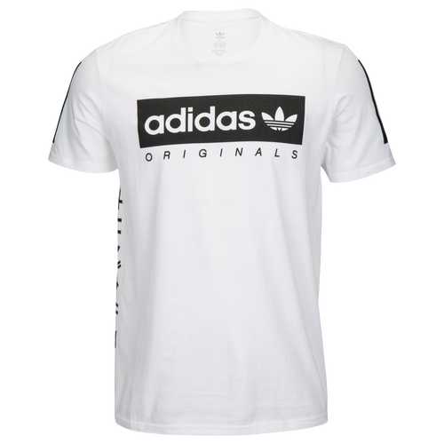 adidas originals graphic t shirt men 39 s casual clothing white. Black Bedroom Furniture Sets. Home Design Ideas