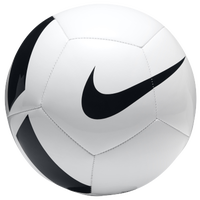 Nike Pitch Team Soccer Ball - White / Black