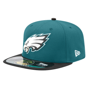 New Era NFL 59Fifty Sideline Cap - Men's - Philadelphia Eagles - Dark Teal