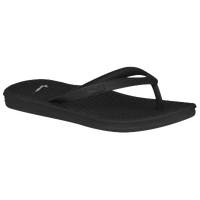 Nike Solarsoft Thong 2 - Boys' Grade School - All Black / Black