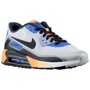 Nike Air Max Lunar 90 - Men's - White/Game Royal/Wolf Grey/Dark Obsidian