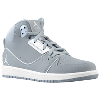 Jordan 1 Flight 2 - Boys' Preschool - Grey / White