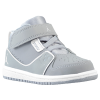 Jordan 1 Flight 2 - Boys' Toddler - Grey / White