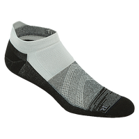 ASICS® Fuzex Graffiti Cushion Single Tab Socks - Black / Grey