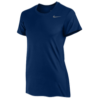 Nike Team Legend Short Sleeve T-Shirt - Women's - Navy / Navy
