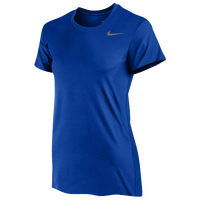 Nike Team Legend Short Sleeve T-Shirt - Women's - Blue / Blue