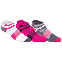 ASICS® Quick Lyte Cushion Single Tab 3 Pack Sock - Women's - Pink / White