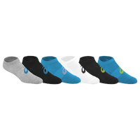 ASICS® Invasion No Show 6 Pack Socks - Women's - Light Blue / Black