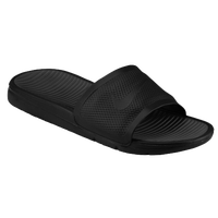 Nike Benassi Solarsoft Slide - Men's - Grey / Black