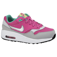 Nike Air Max 1 - Girls' Preschool - Pink / Grey