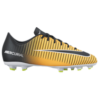 Nike Mercurial Victory XI FG - Boys' Grade School - Gold / Black
