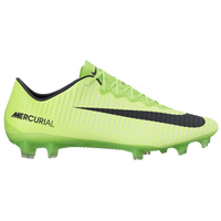 Nike Mercurial Vapor XI FG - Men's - Light Green / Black