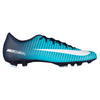 Nike Mercurial Victory VI FG - Men's - Navy / Light Blue