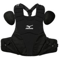 "Mizuno Samurai 16"" Chest Protector - Men's - All Black / Black"