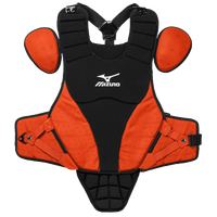 "Mizuno Samurai 14"" Chest Protector - Grade School - Black / Orange"