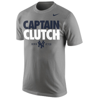 Nike MLB Derek Jeter Retirement T-Shirt - Men's - New York Yankees - Grey / Navy