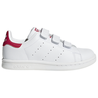 adidas Originals Stan Smith - Girls' Preschool - White / Pink